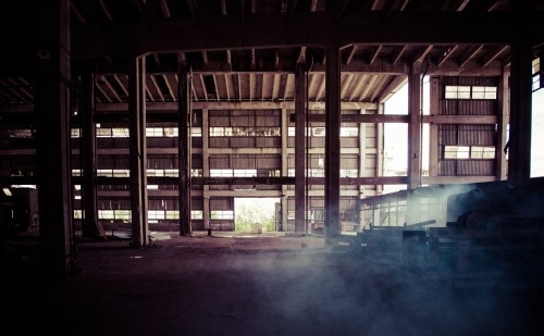 dusty warehouse