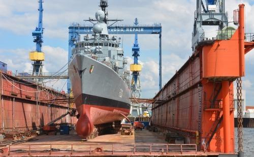 A Ship in a Shipyard