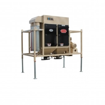 Raised Stationary Dust Collector