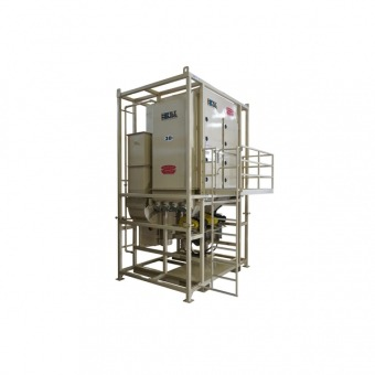 20000 CFM Vertical Dust Collection System