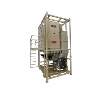 20000 CFM Vertical Electric Powered Dust Collector