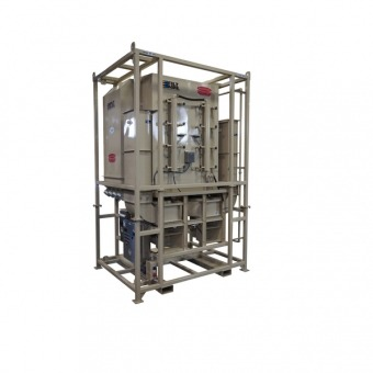 20000CFM Vertical Dust Collection System
