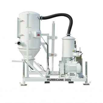 hurricane 300s skid mounted industrial vacuum