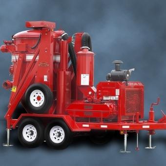 Hurricane 600 Vacuum System Industrial Vacuum Equipment