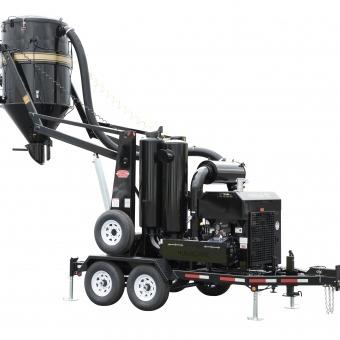 Trailer Mounted Industrial Vacuum