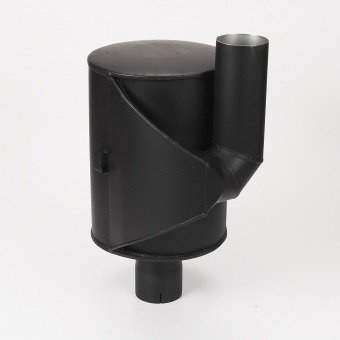 Inline Dust Collector : Residential muffler for hurricane cylinder engine