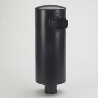 Inline Dust Collector : Muffler for hurricane e tier engines