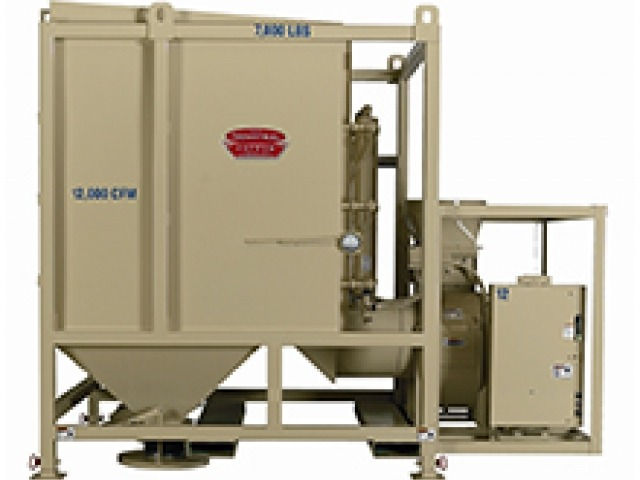 Filt-Aire 12,000 CFM Trailer Dust Collector