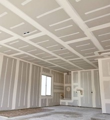A Plaster Drywall Room