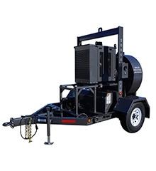 20,000 CFM Diesel Industrial vacuum