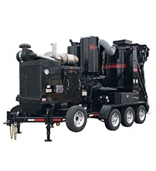 Hurricane MonsterVac Trailer-Mounted Vacuum