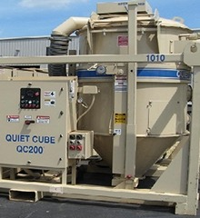Quiet Cube 200HP Skid-Mounted Vacuum