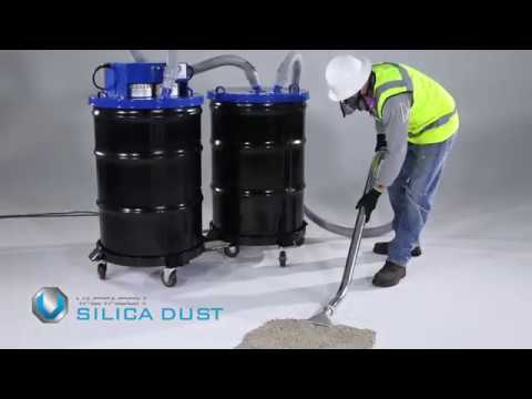 Concrete & Silica Dust Application Video