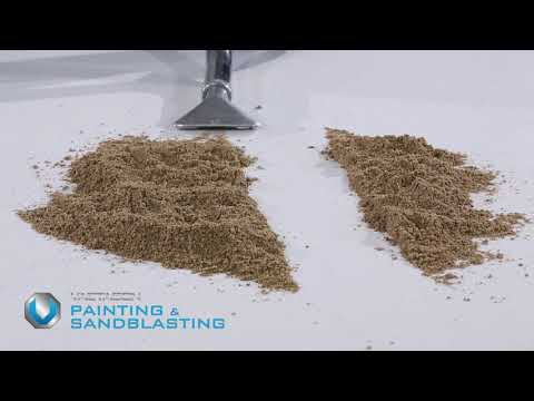 Painting & Sand Blasting Application Video